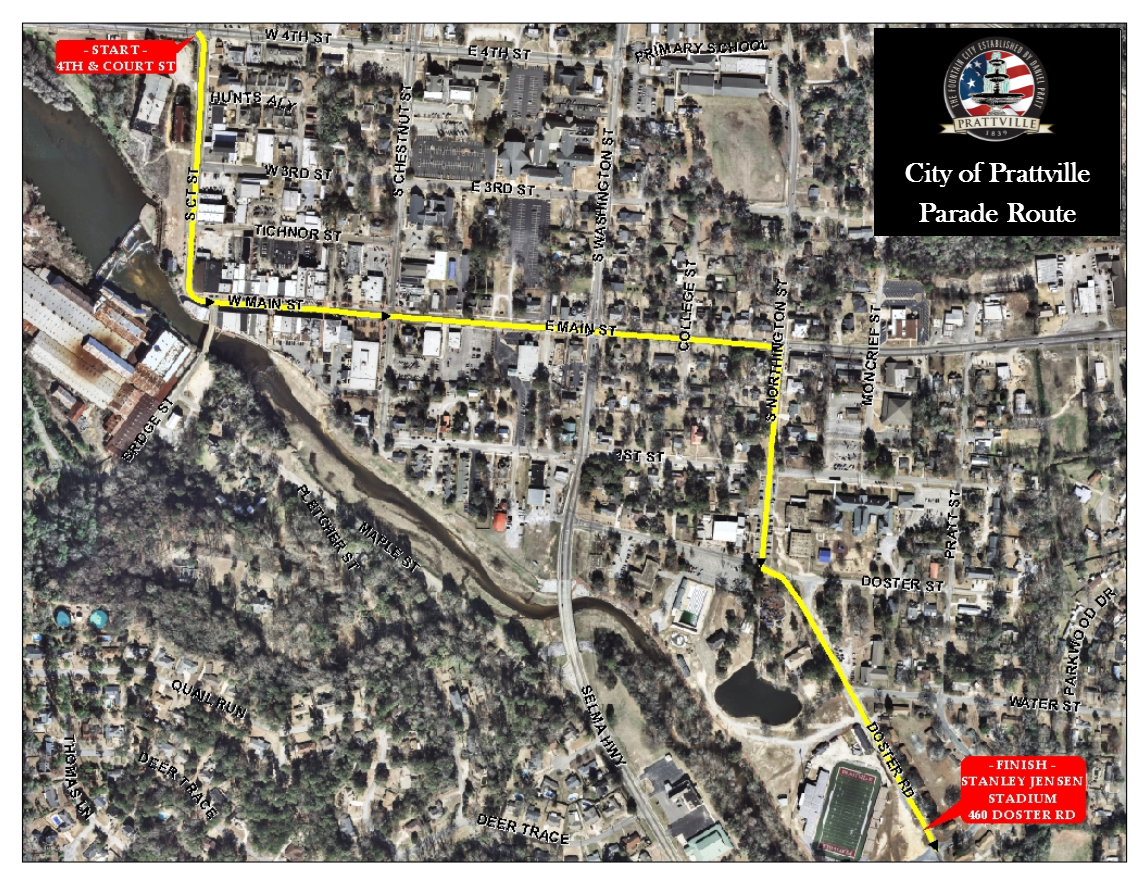 Christmas Parade Route