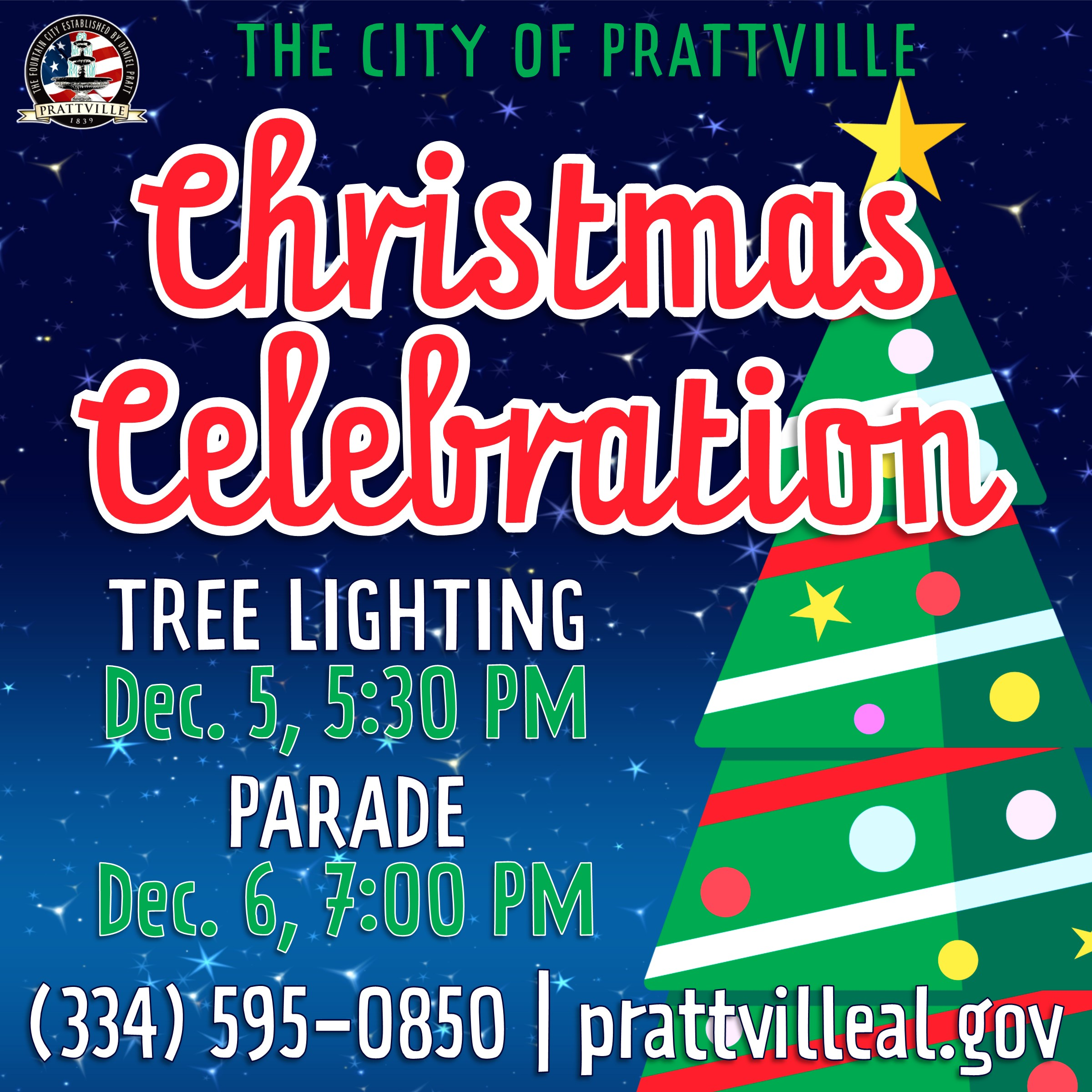 Prattville Christmas 2020 Christmas Parade | Special Events : Prattville, Alabama