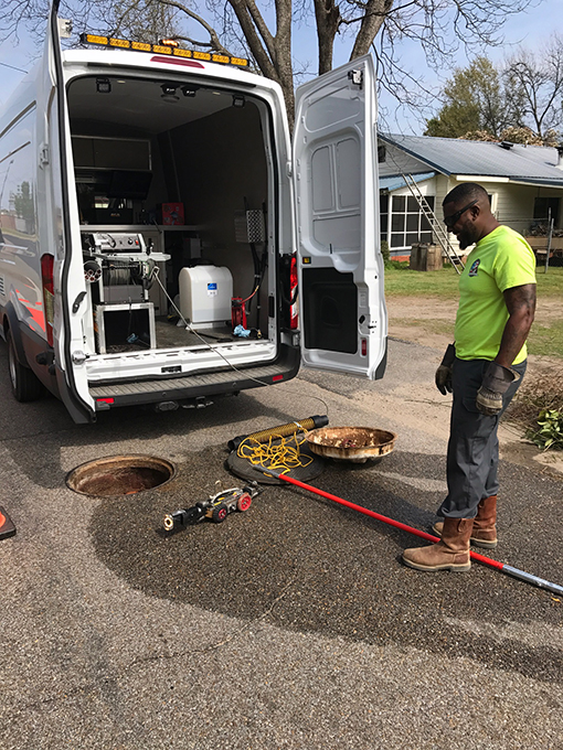 Wastewater Takes Delivery Of New Camera Van Prattville