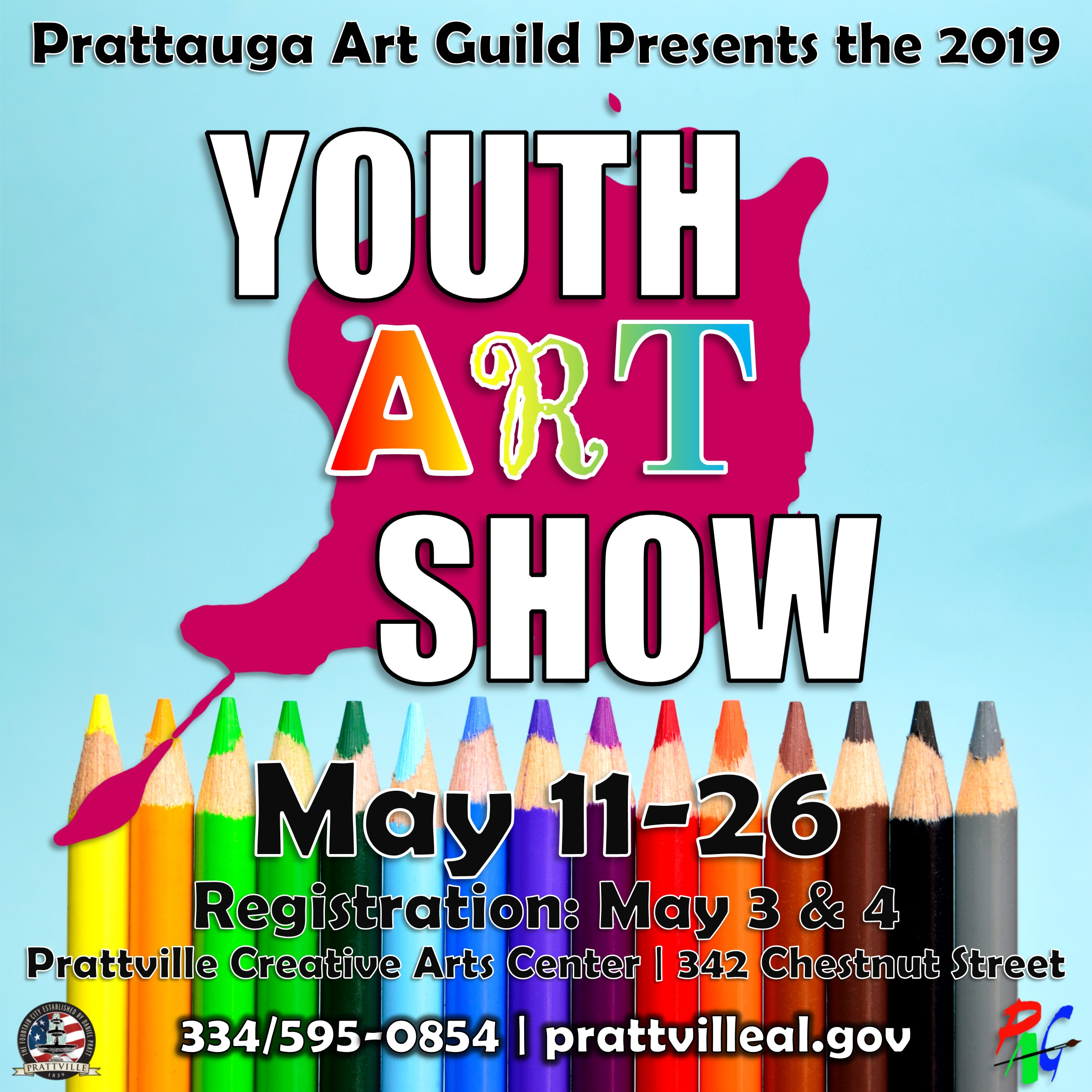 th Annual Youth Art Show in Prattville