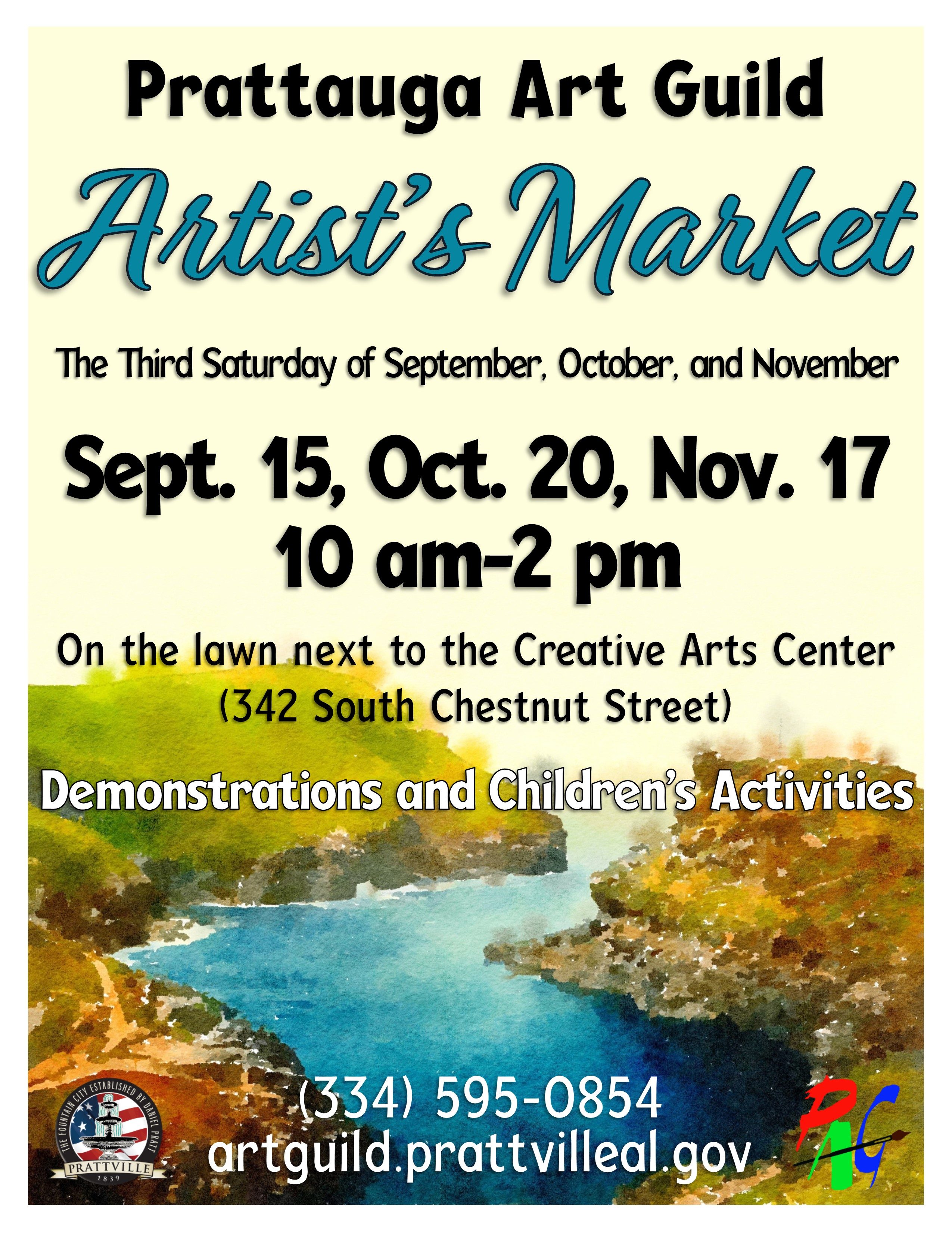 Artists Market Flyer