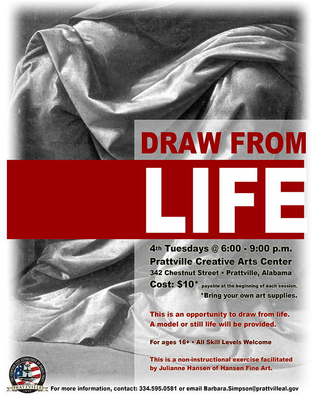 Drawing from Life Flyer