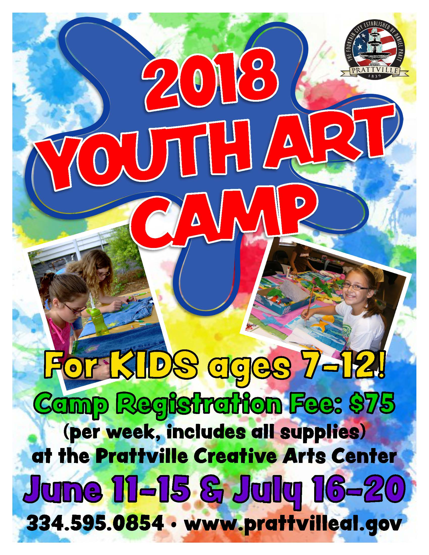 2018 Youth Art Camp