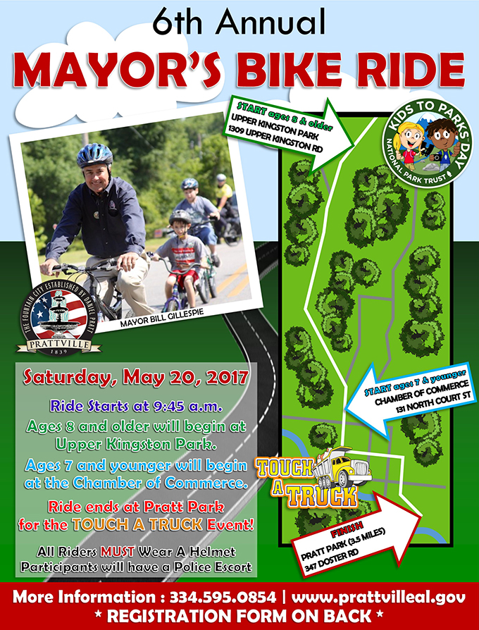 Mayors Bike Ride 2017