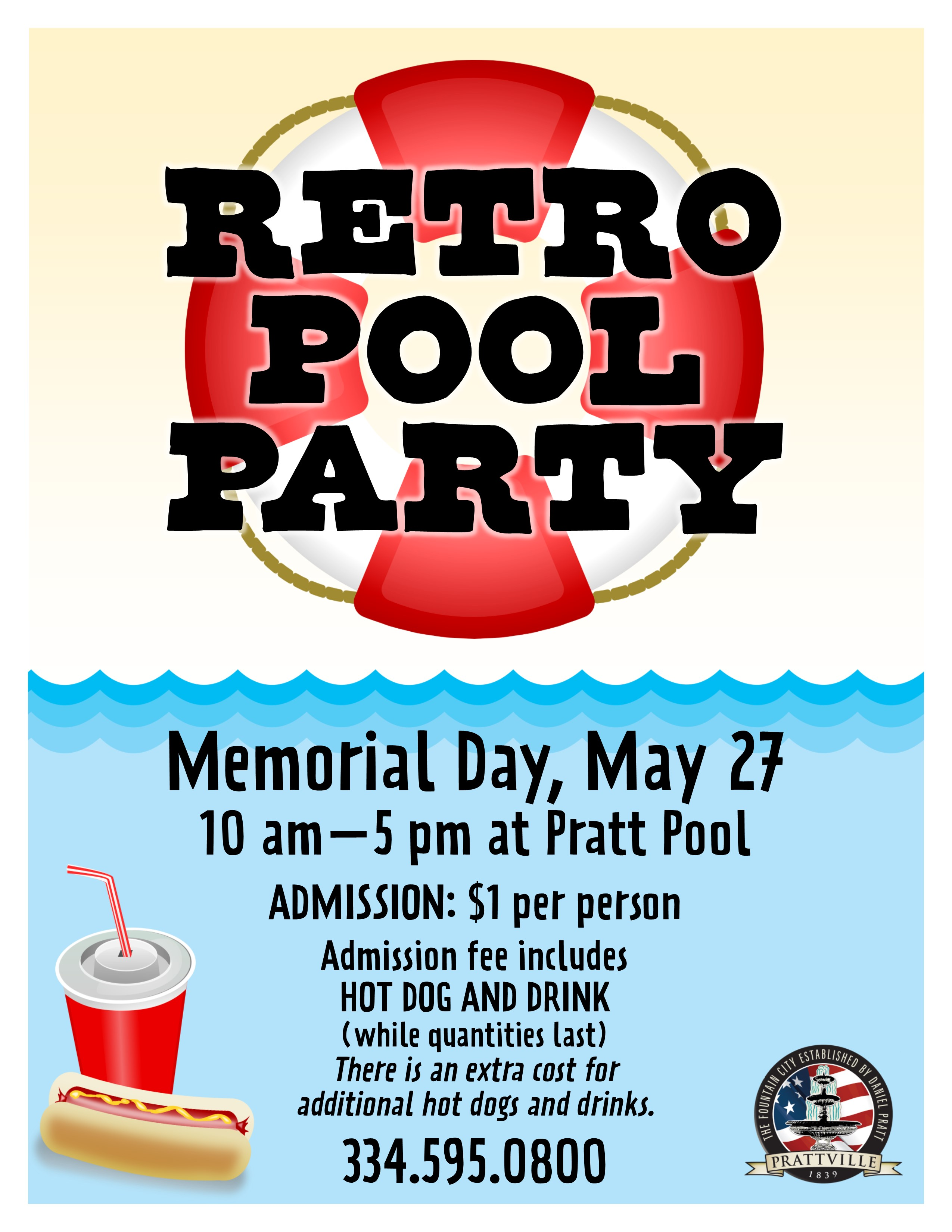 Retro Pool Day