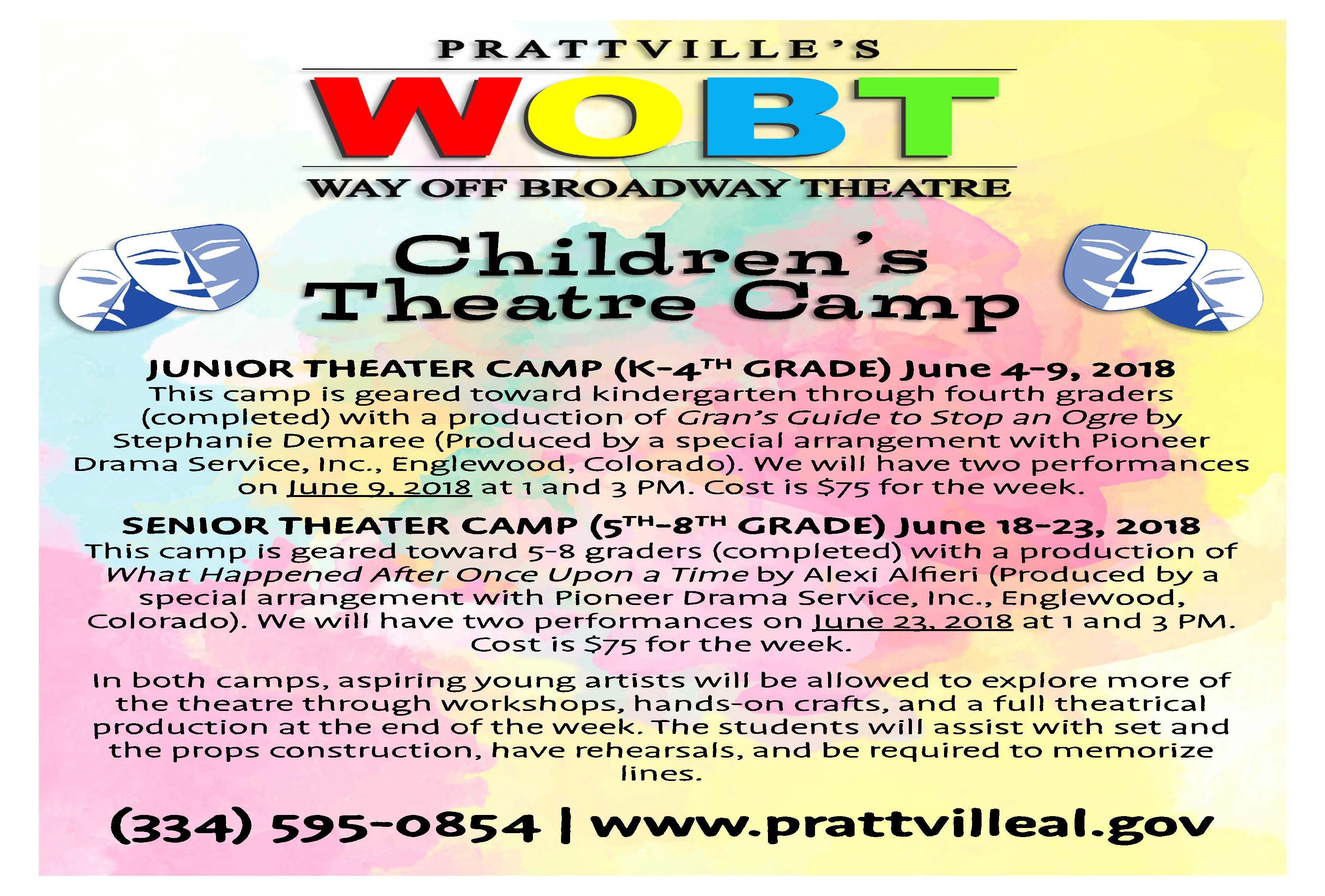 Theatre Camp 2018 Page 1