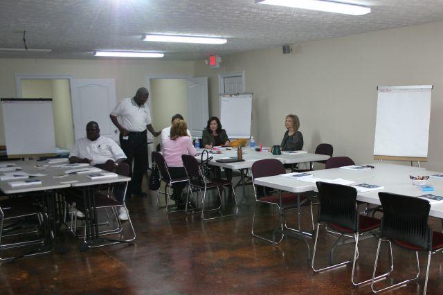 PFD Training Constructs New Classroom : Prattville, Alabama